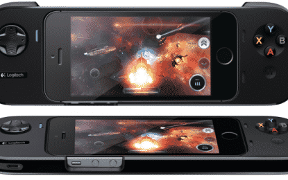 Logitech Unveils its PowerShell iOS 7 Game Controller