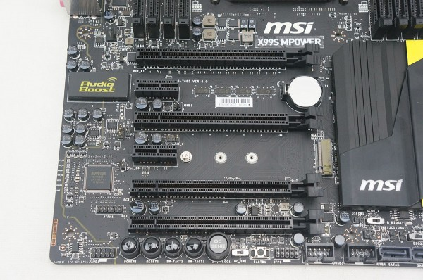 MSI X99S MPower Motherboard