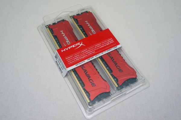 Kingston HyperX Savage DDR3-2400 16GB Memory Kit