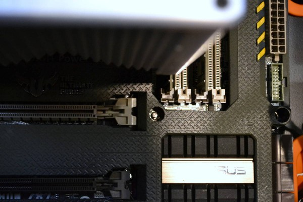 Motherboard mount pin