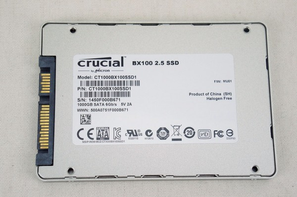 Crucial BX100 Solid State Drive Overview