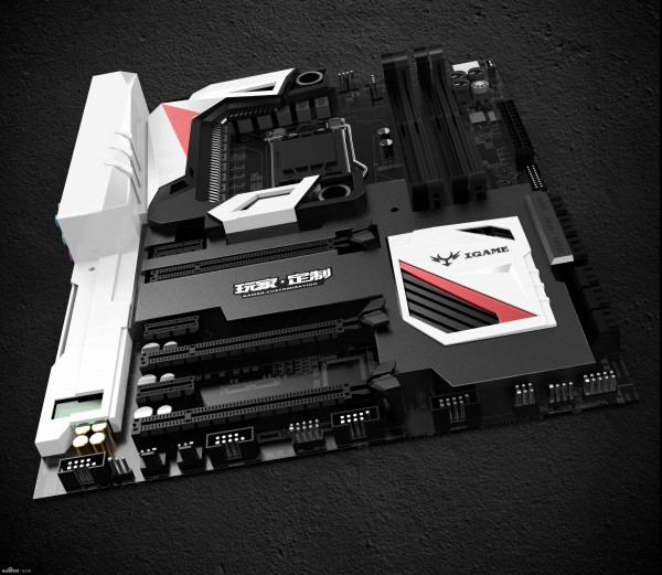 Colorful iGame Z170 Motherboard Concept