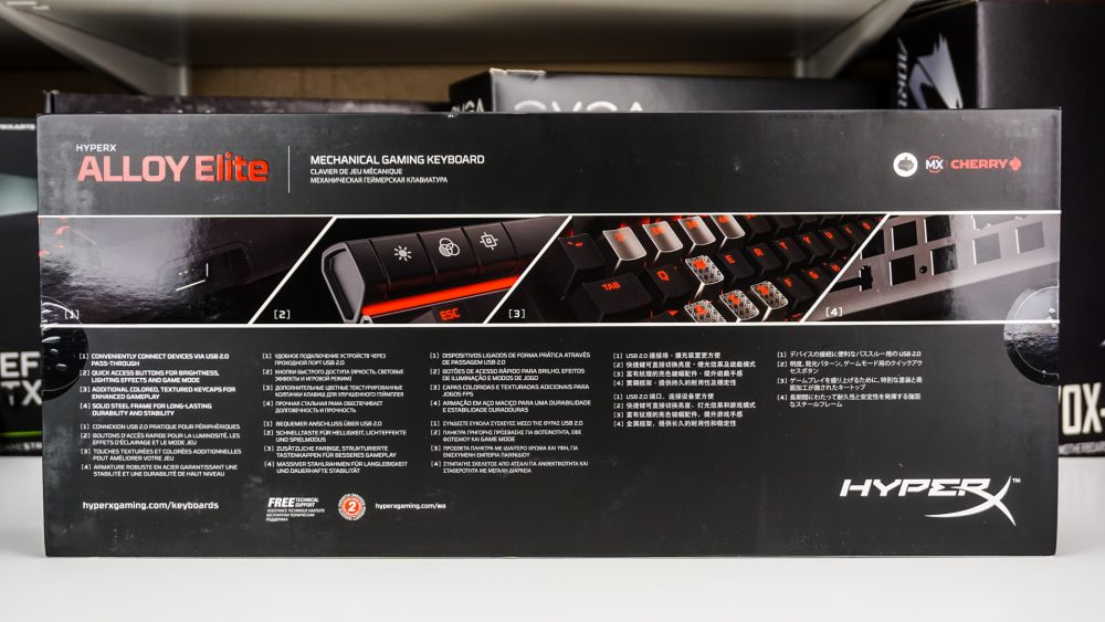 HyperX Alloy Elite Mechanical Gaming Keyboard