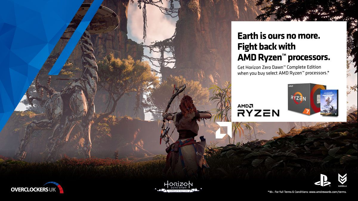 AMD Ryzen 3000 series CPUs bundled with Horizon Zero Dawn The Complete Edition for PC (Steam)