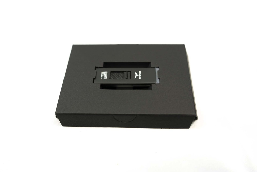 internal packaging T-Force Spark RGB USB Drive
