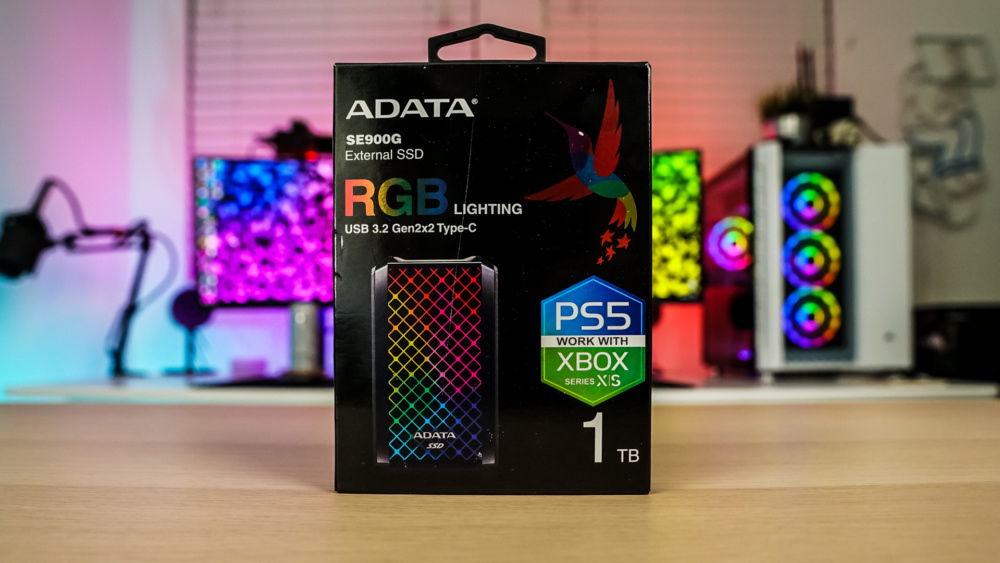 ADATA SE900G External Solid State Drive